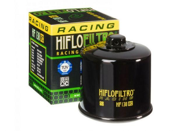 Filtre à huile Hiflo Racing HF138RC