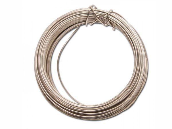 Fil pour pinces, fil de verrouillage pour vis, acier inoxydable, dimensions : 0,7 mm (Ø) x 15 m (L)