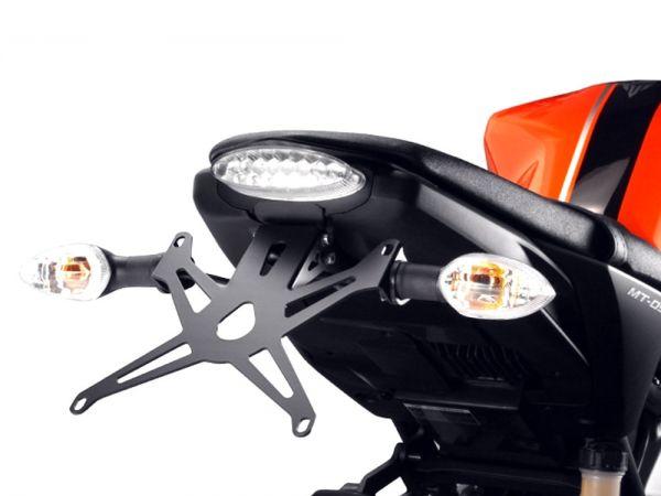 Kennzeichenhalter für Yamaha MT-09 mit LED Rücklicht (2013-2016)