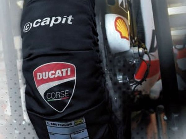 CAPIT tyre warmer Suprema Spina with DUCATI LOGO