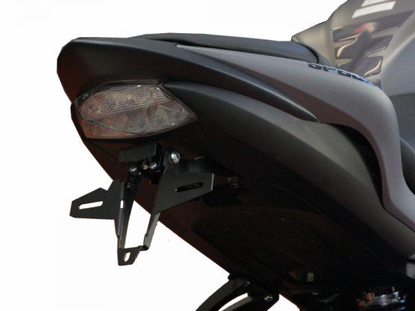 Support de plaque d'immatriculation IQ1 pour Suzuki GSX-S 1000 + 1000F (2015-2019)