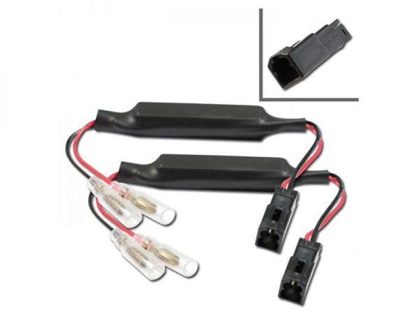 Câble adaptateur de clignotant avec résistance pour Ducati Panigals Clignotant arrière