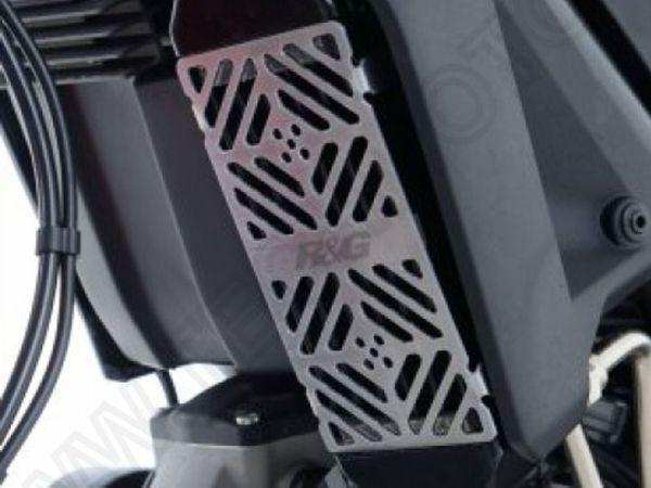 Kühlergitter Ölkühler silber für Ducati Scrambler 2015- Monster 797 2017-