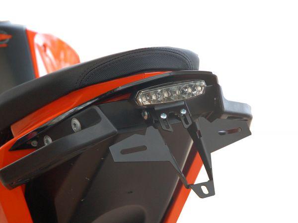 Portatarga IQ1 per KTM 690 DUKE (2012-2019) con fanale posteriore