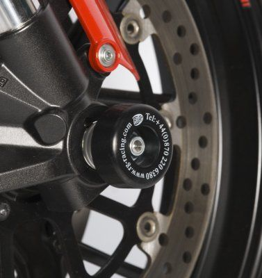 Fork protectors for Ducati 848 Streetfighter