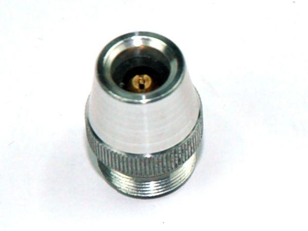 FLAIG Geradeanschluss für Luftdruckprüfer Reifendruckmessgerät