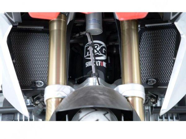 Kühlergitter Wasserkühler schwarz für BMW R 1200 GS Adventure (2013-2018)