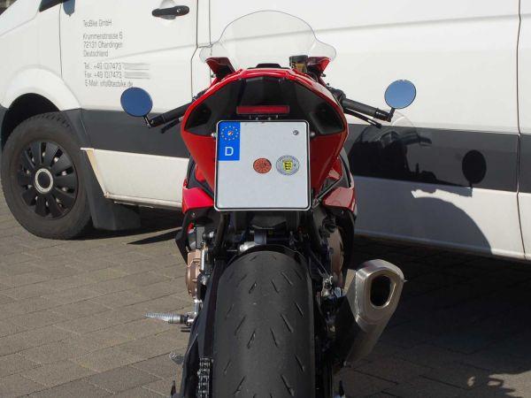 Kennzeichenhalter IQ4 mit Blinker für BMW S1000RR (2019-2021)