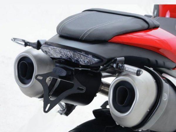 Kennzeichenhalter R&G für Triumph Speed Triple 1050 R - 1050 S (2016-2020)