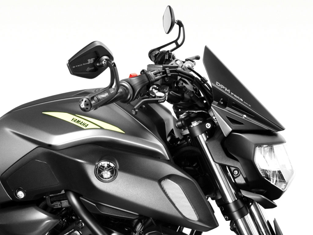Máscara Frontal Warrior Para La Yamaha Mt 07 2018 2020 Tecbike