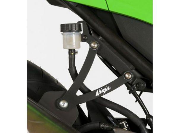 Support d'échappement pour la Kawasaki Ninja 300 (2013-2016) de R&G