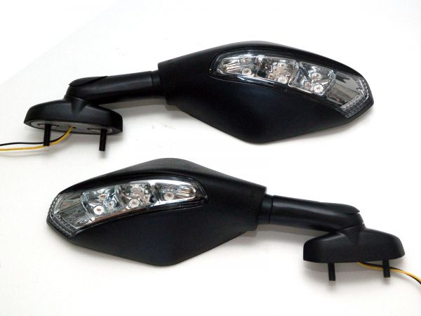 Miroir indicateur 7511-7512 Distance 28-50 mm noir