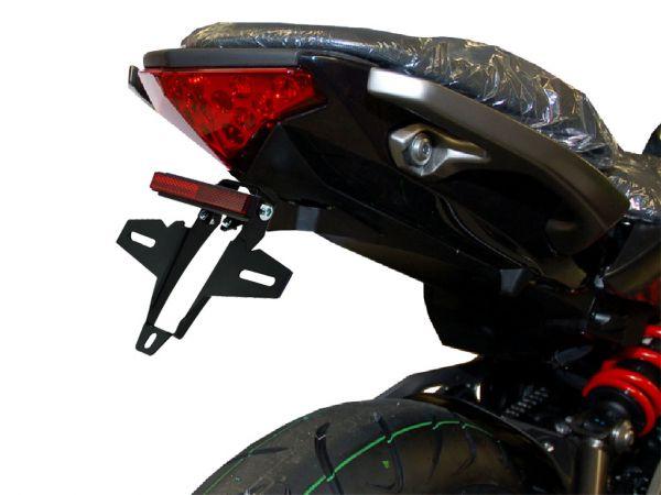 Porta targa IQ4 per Kawasaki ER 6N ER 6F (2012-2016)