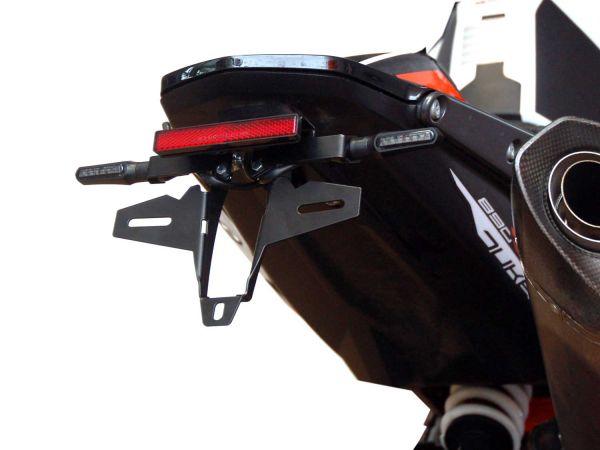 Kennzeichenhalter IQ4S für KTM 790 | 890 (2018-2021) mit Rücklicht-Blinker