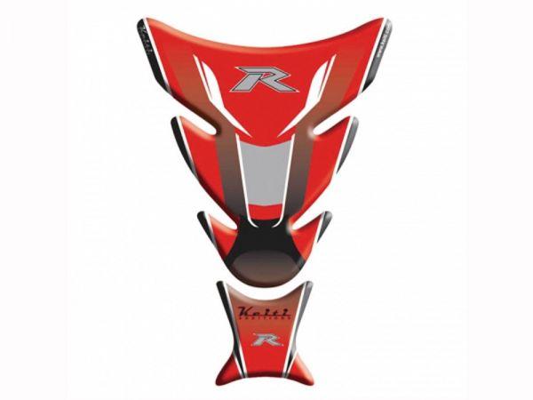 Tampone carburante Keiti per Kawasaki TKW-504R rosso