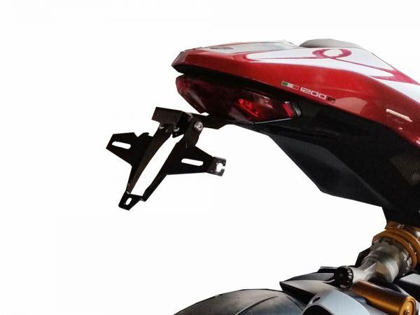 License plate holder IQ1 for Ducati Monster 1200 R (2016-2019)