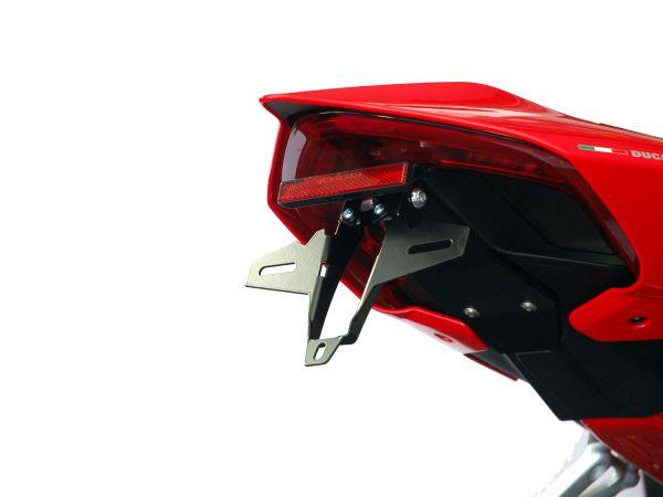 Porta matrícula IQ4 para la Ducati Panigale V4 (2018-2021)