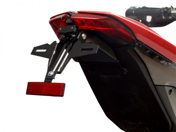 Porta targa IQ1 per Ducati Hypermotard 821 + 939