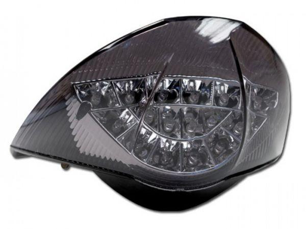 La luz trasera del KTM 990 Super Duke Super Duke R teñida