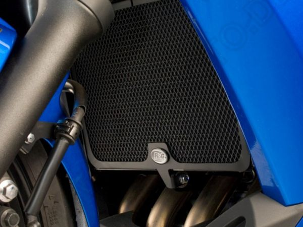 Radiator grille water cooler black for Yamaha XJ6 Diversion F (2009-2014)