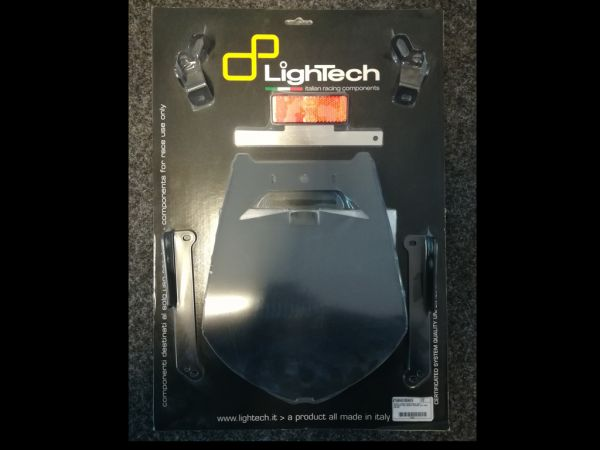 Support de plaque d'immatriculation pour la Honda Firebalde CBR 1000 RR (2008-2009) de lightech