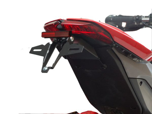 License plate holder IQ4 for Ducati Hypermotard 821 + 939