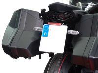 License plate holder IQ4 for Kawasaki Ninja 1000 SX (2020-2021)