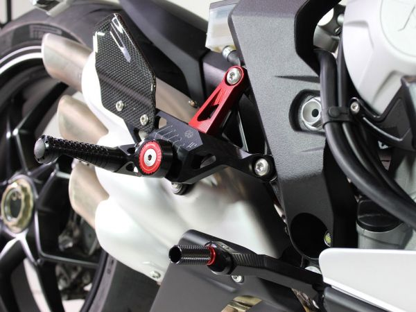 Sistema de reposo MUE2-MV01 para MV Agusta F3 | Brutale