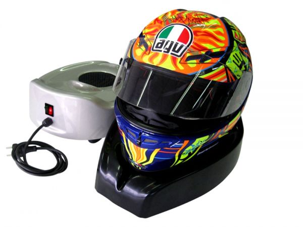 Helmet dryer warm cold air