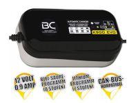 Batterieladegerät BC K900 EVO 12V + CAN-Bus + LITHIUM 1,2 Ah bis 100 Ah Aufladung, bis zu 100Ah Erha