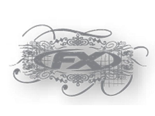 FX 5-pack sticker set FX 2