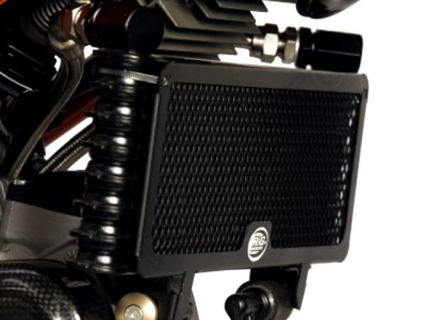 Radiator grille oil cooler black for Ducati Hypermotard 1100 EVO