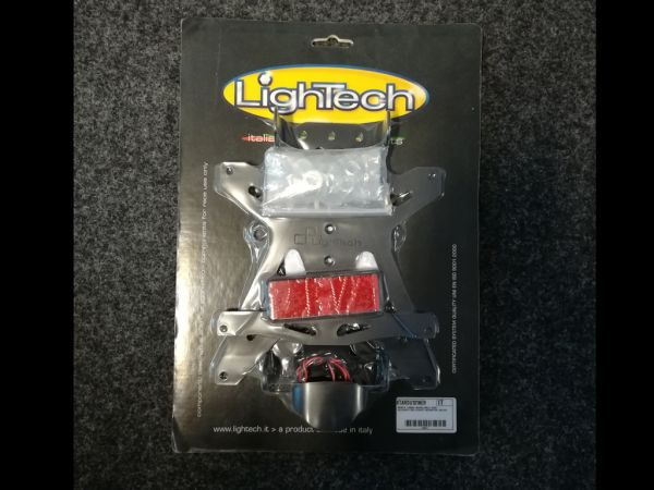 Support de plaque d'immatriculation pour Ducati Monster (2003-2007) de lightech