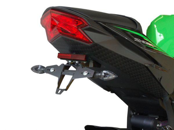 Kennzeichenhalter IQ4 für Kawasaki ZX-6R 636 (2013-2016)