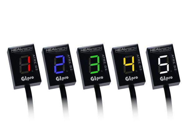 Healtech gear indicator for Kawasaki GPDT-K01