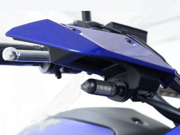 Turn signal adapter plates for various Yamaha MT models XSR models
