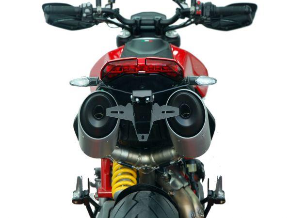 License plate holder IQ7 for Ducati Hypermotard 950 | SP | RVE (2019-2021)